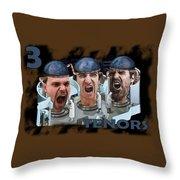 The Three Tenors Throw Pillow