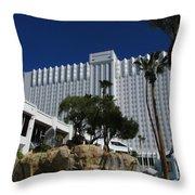 The Tropicana Hotel And Casino, Las Vegas Throw Pillow