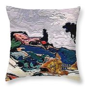The Unimaginable Dream Of The Fish 22 Throw Pillow