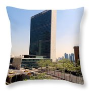 The United Nations Throw Pillow