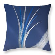 The Vertical Break Throw Pillow