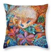 The Walls Of Safed Throw Pillow