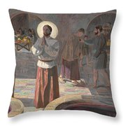 The Wedding At Cana Throw Pillow