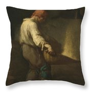 The Winnower Throw Pillow