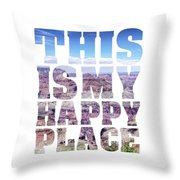 This Is My Happy Place - The Grand Canyon Throw Pillow