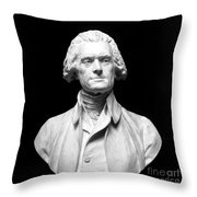 Thomas Jefferson (1743-1826) Throw Pillow by Granger