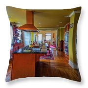 Thomas Kitchen Throw Pillow