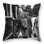Thomas Wolfe (1900-1938) Throw Pillow