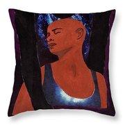 Thou Art With Me Throw Pillow