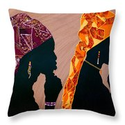 Thought And Prayer Throw Pillow