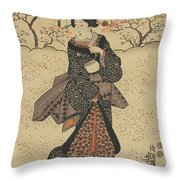 Three Women Throw Pillow