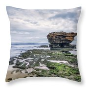 Tides Of Flowing Time Throw Pillow
