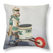 Tidy Tim Throw Pillow
