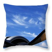 Time Flies Throw Pillow