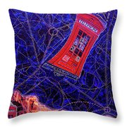 Time Traveler Throw Pillow