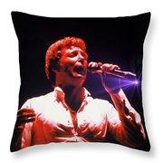 Tom Jones In Concert Throw Pillow