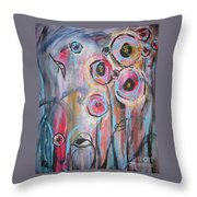 Too Many Temptations Throw Pillow