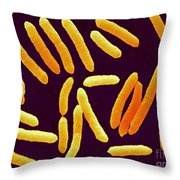 Toxigenic Escherichia Coli O145, Sem Throw Pillow