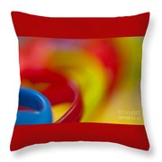 Toy Abstract Throw Pillow