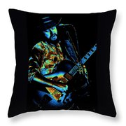 Toy Caldwell Art 2 Throw Pillow