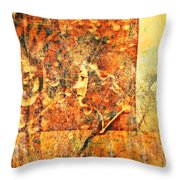 Traces Throw Pillow