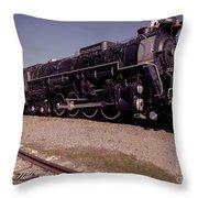 Train Engine #2732 Throw Pillow
