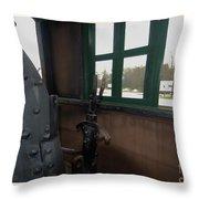 Trains 5 5a Throw Pillow