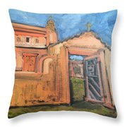 Trampas Church Throw Pillow