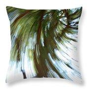 Tree Diptych 2 Throw Pillow