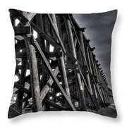 Tressel From The West Throw Pillow