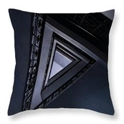 Triangle Staircase Throw Pillow