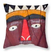 Tribal Decoration Throw Pillow