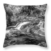 Trickling Down Throw Pillow