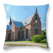 Trinity Church In Kristianstad Throw Pillow