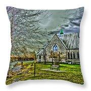 Trinity Episcopal Church Throw Pillow