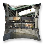 Triple Crossing Area Throw Pillow
