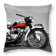Triumph Bonneville 1959 Throw Pillow
