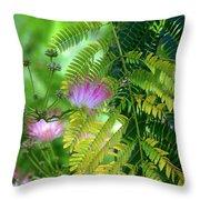 Tropical Eden Throw Pillow