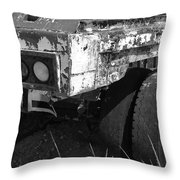 Truck Lights Throw Pillow