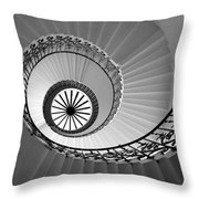 Tulip Staircase Throw Pillow by Julian Perry