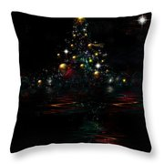 Twas The Night Before Throw Pillow
