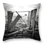 Two Sides To Every Story Throw Pillow