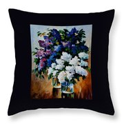 Two Spring Colors Throw Pillow