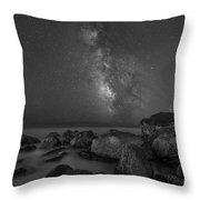 Under The Moon Light Throw Pillow