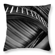 Under The Stairs Throw Pillow