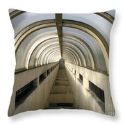 Underground Vault Throw Pillow