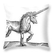 Unicorn, 1607 Throw Pillow