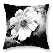 Universal Floral Throw Pillow