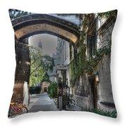 University Of Chicago Throw Pillow