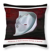 University Of South Carolina College Of Nursing Throw Pillow